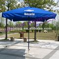 10' printing square wood patio umbrellas YN7017