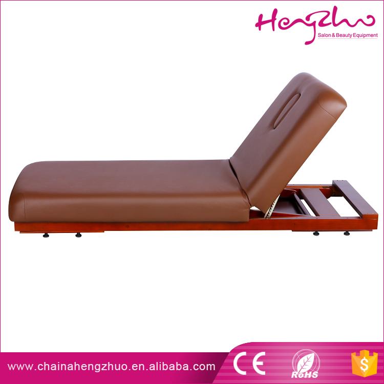 Stile tailandese manipolativa shiatsu pieghevole lettino da massaggio letto in legno - Letto da massaggio ...