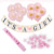 Microstar Its a Boy Its a Girl Gender Reveal Decoration Baby Shower Party