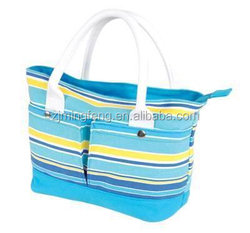 cotton bag/ jumbo canvas tote bag/ stylish recyclable shopping cotton bag