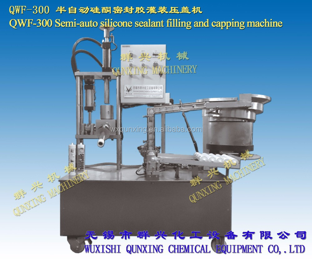 QWF-300 silicone sealant filling and capping machines