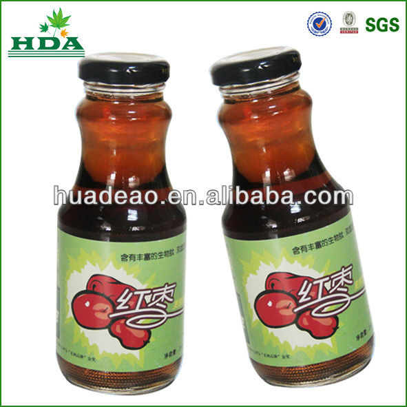 hot label made in china for glass bottle