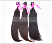 Hot selling tangle free wholesale Brazilian human unprocessed virgin high quality relaxed straight hair