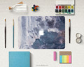 New Design Oil Painting sticker paster for Apple Macbook 11'' 12'' 13'' Retina Pro Marble Effect Slim Fit Paster