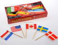 wholesale various paper toothpick flags /cocktail picks/color toothpicks