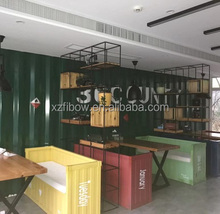 20ft 40ft Customized Shipping Container Cafe Restaurant Home