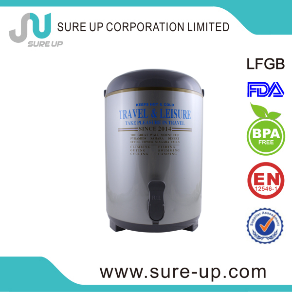food grade 6.0l water container with one faucet (WSUG)