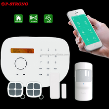 2017 New Design Home Outdoor Smart 3G 4G WCDMA Smart Alarm System