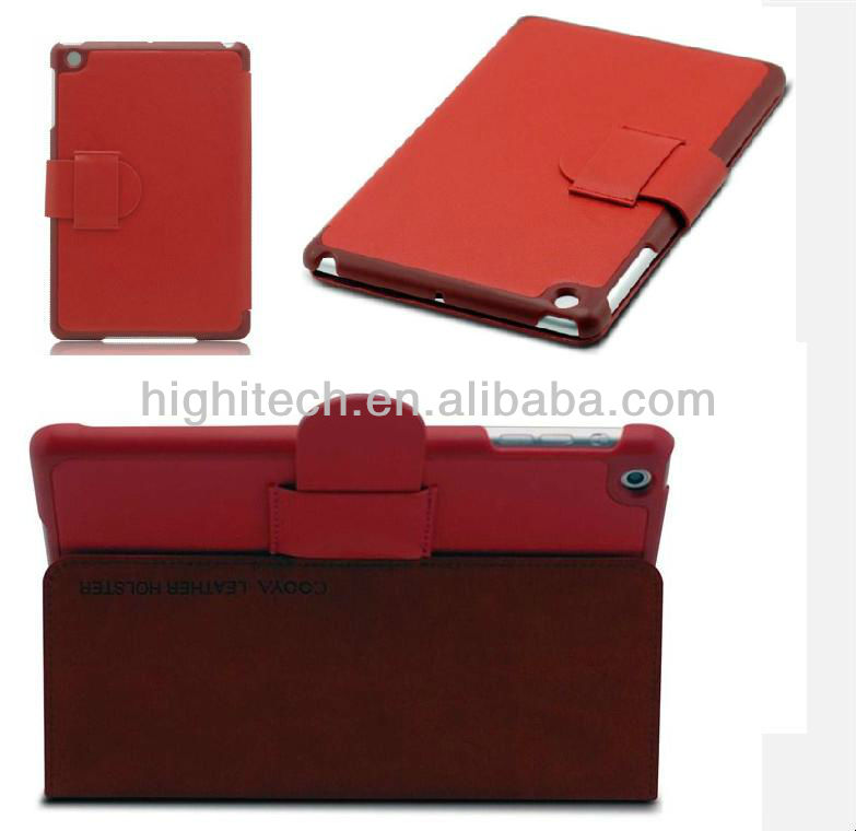 Genuine 2 Stand Leather Case For Apple iPad Mini