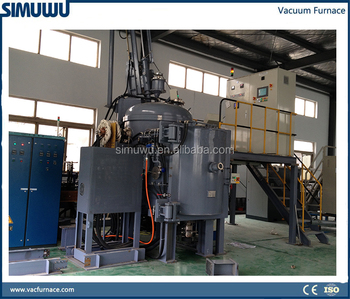 high temperature Continuous vacuum induction melting furnace, ferrite materials melting furnace