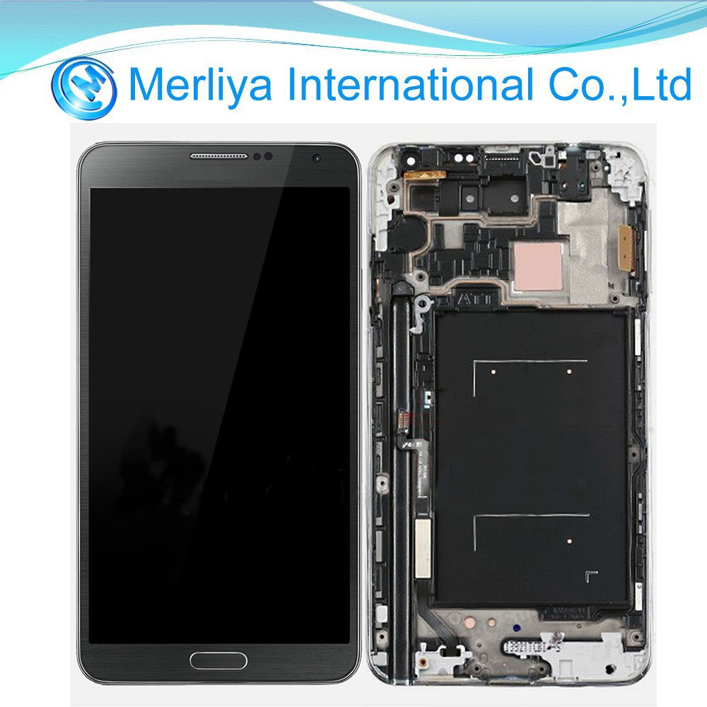 Brand new cell phone parts for note3 lcd, lcd with touch screen for samsung galaxy note iii 3 n9005