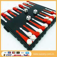 Travel Educational chessboard backgammon game set