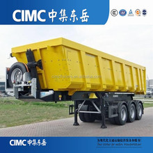 CIMC High Quality Dump Semi Trailer/12 Tires Tipper Truck With 60 Ton For Sale