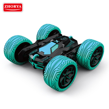zhorya 6ch radio control toys R/C big wheels tumbler Stunt Car free style RC car for kids