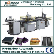 HM-BD600 Automatic Wooden Box Making Machine Without Corner Pasting Part