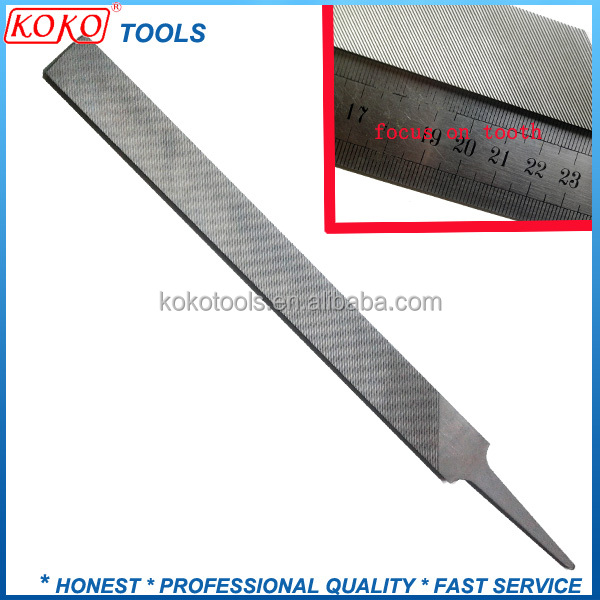 Hand Milled straight tooth with Tand professional file for lathe