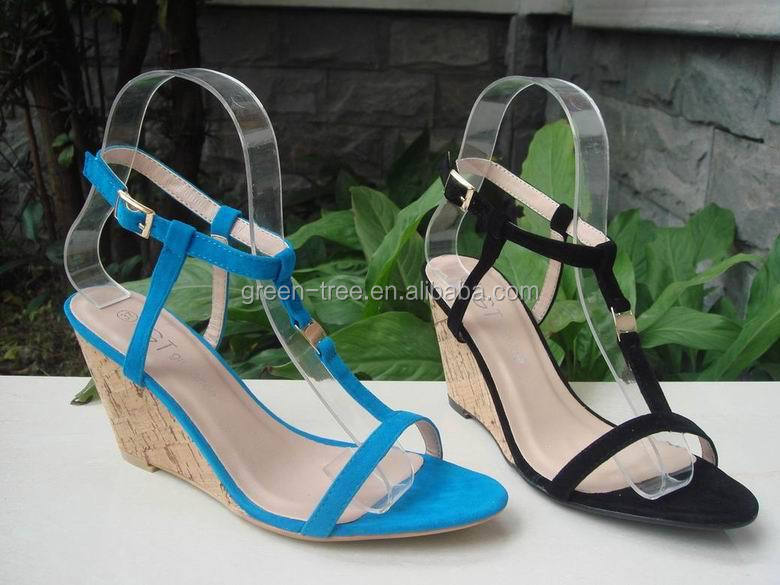 2016 New Low Wedge Lady Fashion Summer Sandals Shoes