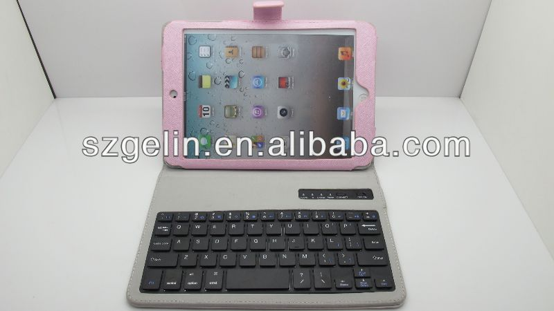 Magnetic detachable wireless keyboard case for ipad mini