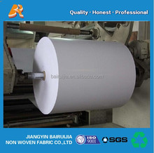white color PP/PET nonwoven fabric with breathable PE film