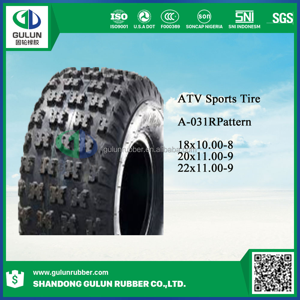 Alibaba china top sell four stroke cheap atv tires for sale 22x11.00-9