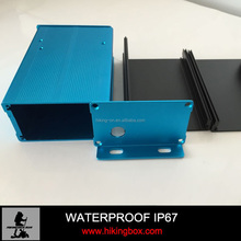 Aluminum anodizing enclosure /Extruded Profile Box PHE049