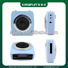 Audio tube surround mini sound amplifier with microphon