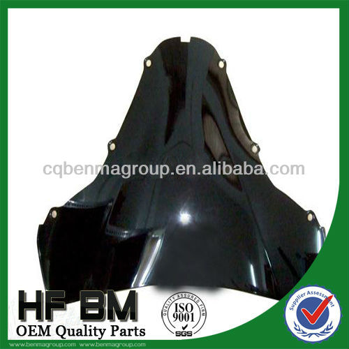 victor/TVS windshield for motorcycle with various models,high quality and best price,With high efficiency
