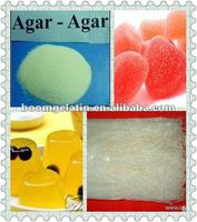 jelly,dairy product,confectionary,beverage,and biological use----edible grade agar agar