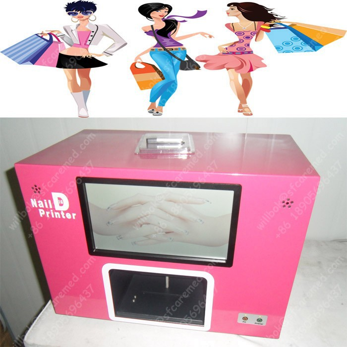 Best selling New Fashion Girl digital photo nail art printer with computer