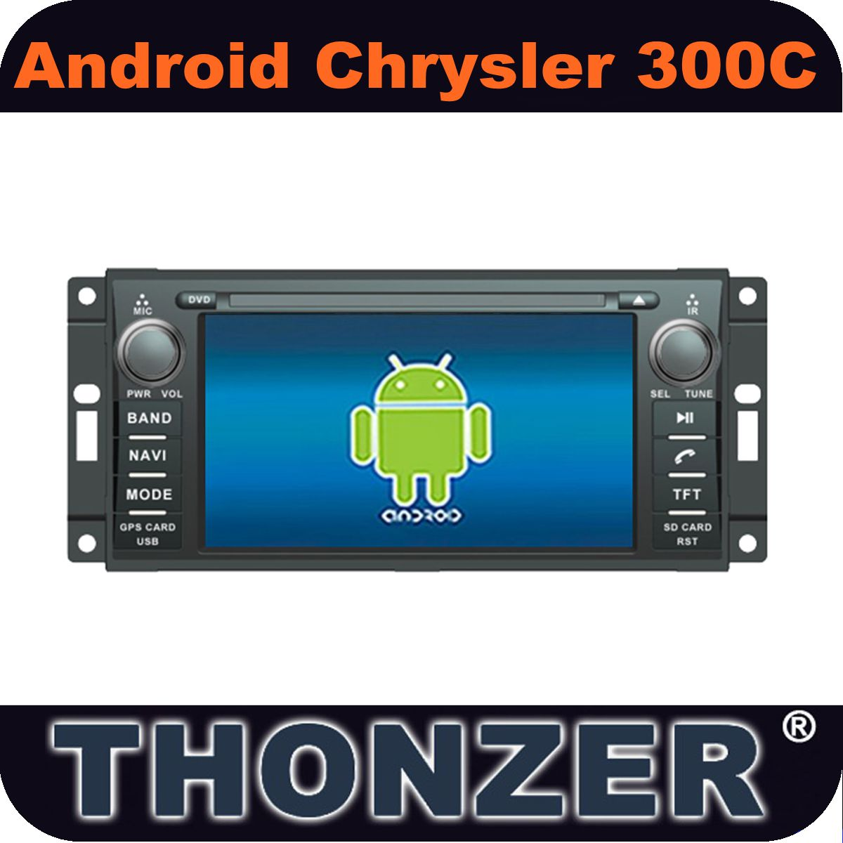 Android 4.1 Car PC GPS DVD for Chrysler 300C