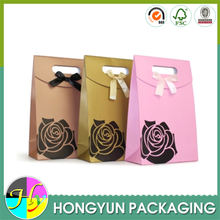 Custom paper bag packaging for gift, gift packaging bag