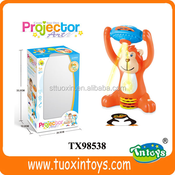 Plastic toy projector, kids projector toys
