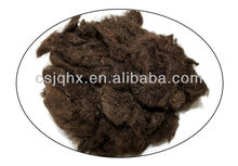 4D 65MM, drop dyed fiber for artificial furs with 55% shrinkage