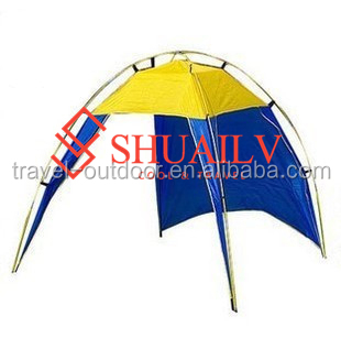 Summer Luxury Tents Camping 5-8 Person Large Cool Beach Gazebo Tent Kids Summer Courtyard Sunscreen Te