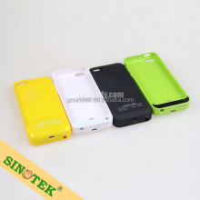 SINOTEK external backup case charger battery for iphone 5 5c 5s free shipping by sea with 5000pcs