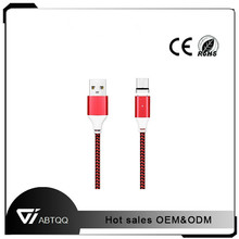 Magnetic Charging Cable For iphone6 and Samsung mobile phone micro usb cable