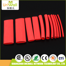 160pcs 6 sizes red polyolefin 100mm electrical insulation tubing heat shrink tube
