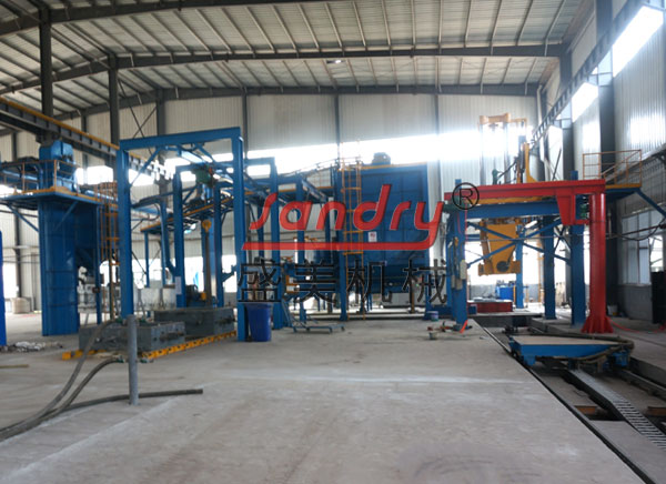 vacuum process casting molding foundry machinery