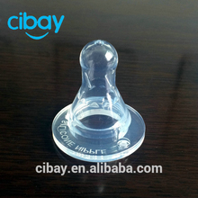 Baby feeding product injection silicone nipple
