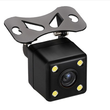 4pcs LED light waterproof adjustable high-definition night vision car black box 170 view angle car camera
