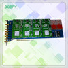 8 lines PCI GSM Asterisk card compatible with Diguim TDM 400P & 400E, access of GSM cdma pstn phone