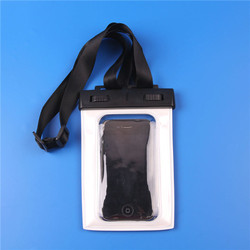 PVC bag for cell phone waterproof packaging