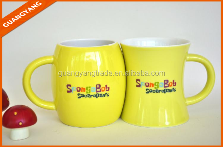 Cute japanese cartoon,cute soup mugs,cute couple mug