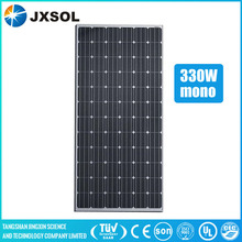 China PV manufacturer 330w mono solar panel with 72 cells series