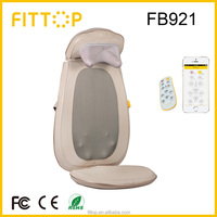 Fittop Shiatsu & heating massage cushion with vibrating pad health care product