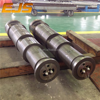 Conical Screw Barrel and Parallel Screw Barrel for Extruder Machines