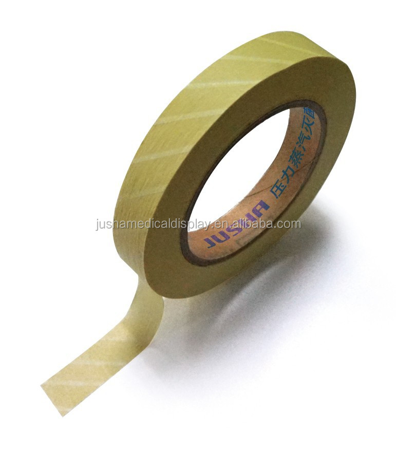 Medical Autoiclave Indicator printed packaging tape daily consumable items