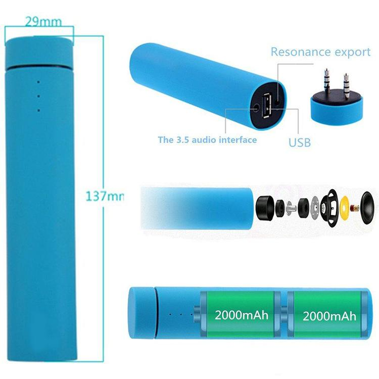 New 3 in 1 multi function power bank bluetooth speaker with phone holder function powerbank bluetooth speaker
