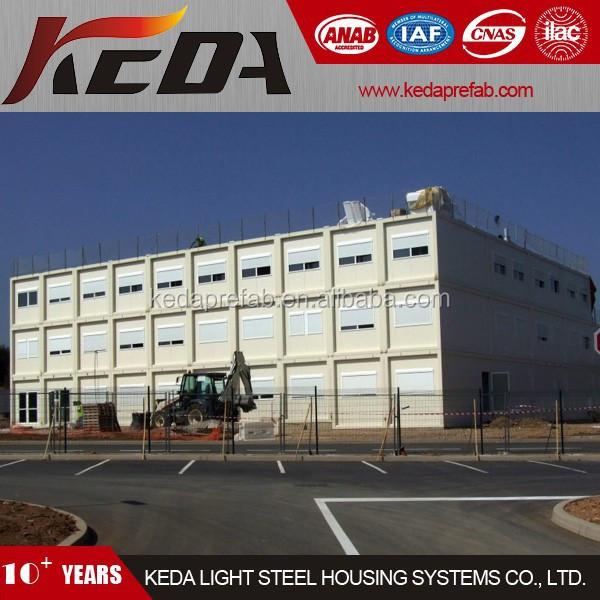 Modular/Module Office Container Building Manufacturer in Guangzhou 408