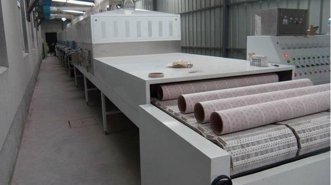 60KW industrial paper egg tray microwave clean fast dryer